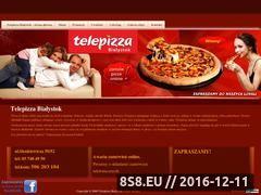 Miniaturka domeny www.telepizza.bialystok.pl