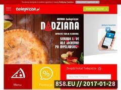 Miniaturka domeny telepizza.pl