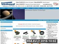 Miniaturka www.teleskopy.pl (Teleskopy astronomiczne - Teleskopy.pl)