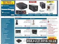 Miniaturka Hurtownia sprzętu telekomunikacyjnego (www.telpol2.com.pl)