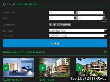 Zrzut strony Temar deweloper - nowe mieszkania - Wrocław