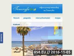 Miniaturka domeny www.teneryfa24.pl
