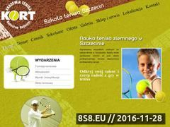 Miniaturka tenis-rudnicki.pl (Lekcje tenisa Szczecin)