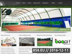 Miniaturka domeny tenistal.com.pl