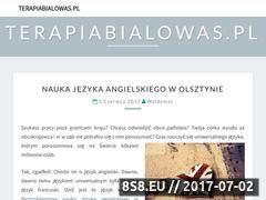 Miniaturka domeny www.terapiabialowas.pl