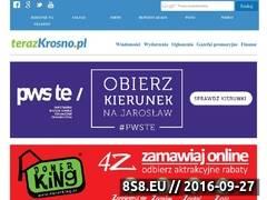 Miniaturka terazkrosno.pl (Informacje z Krosna i powiatu krośnieńskiego)