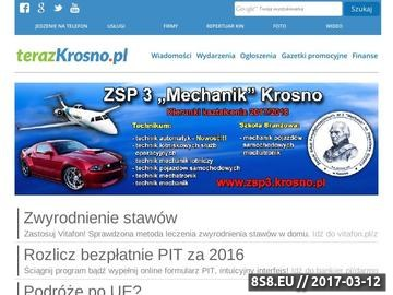 Zrzut strony Wiadomości z Miasta Krosno i powiatu krośnieńskiego