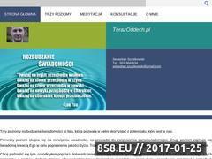 Miniaturka domeny www.terazoddech.pl