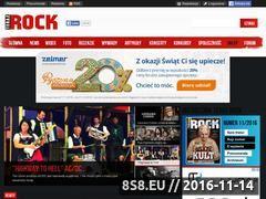 Miniaturka terazrock.pl (Terazrock.pl - koncerty rockowe)