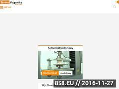 Miniaturka domeny www.termoorganika.com.pl