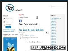Miniaturka tgonline.pl (Wszystkie odcinki Top Gear online PL)