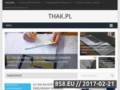 Miniaturka Blog księgowy (thak.pl)