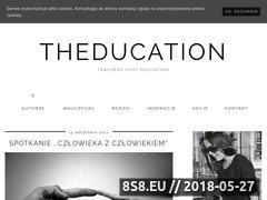 Miniaturka theducation.pl (Blog o edukacji wczesnoszkolnej)