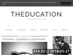 Miniaturka domeny theducation.pl