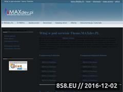 Miniaturka domeny theme.maxdev.pl