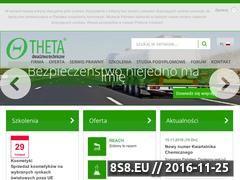 Miniaturka domeny www.theta-doradztwo.pl