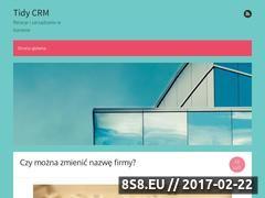 Miniaturka Blog biznesowy (tidycrm.pl)