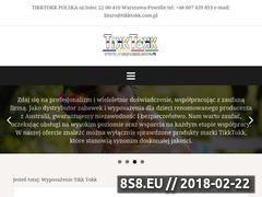 Miniaturka tikktokk.com.pl (Maty podłogowe i kojce dla dzieci)
