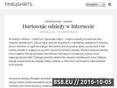 Miniaturka domeny time4shirts.pl
