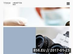Miniaturka Stomatolog - Titanium Dental (titaniumdental.pl)