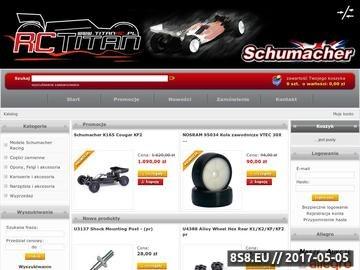 Zrzut strony TitanRC Zabawki i modele zdalnie sterowane