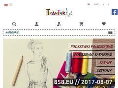 Miniaturka domeny tkaninki.pl