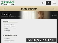 Miniaturka domeny tkaninydekoracyjne.com.pl