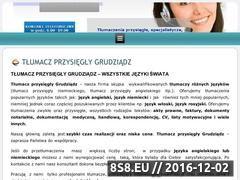 Miniaturka domeny tlumacz.grudziadz24h.eu