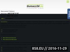 Miniaturka domeny tlumacz24.eu