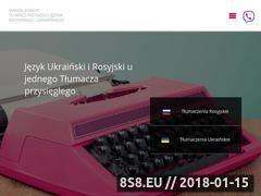 Miniaturka tlumaczalnia.pl (Tłumacz przysięgły Kraków)