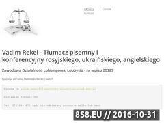 Miniaturka domeny tlumaczrosyjskiegoiukrainskiego.pl