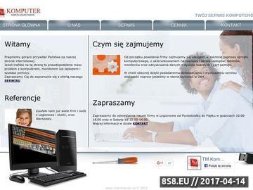 Zrzut strony Naprawa laptopów i monitorów w Legionowie