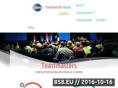 Miniaturka domeny toastmasters.pomorskie.pl