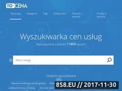 Miniaturka tocena.pl (Wyszukiwarka cen usług)