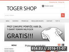 Miniaturka domeny www.togershop.pl