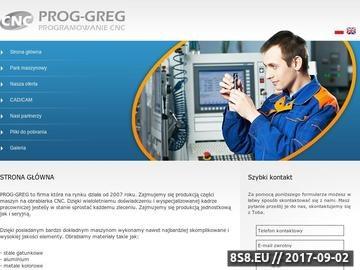 Zrzut strony Programy CNC