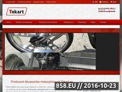 Miniaturka www.tokart.eu (Producent akcesoriów do motocykli)