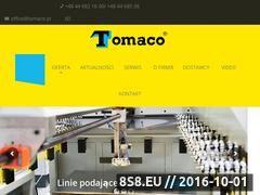 Miniaturka domeny www.tomaco.pl