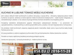 Miniaturka domeny www.tomaszkuchnielublin.pl