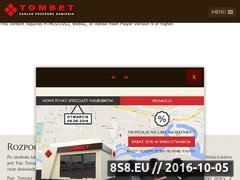 Miniaturka domeny www.tombet.com.pl
