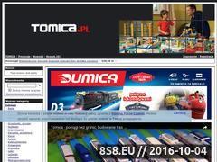 Miniaturka domeny www.tomica.pl