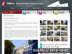 Miniaturka domeny www.tompla.pl