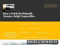 Miniaturka domeny www.tomtrafficc.pl