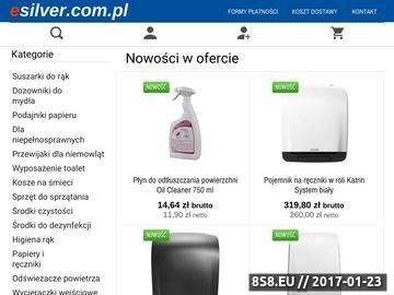 Zrzut strony Dozowniki do ręczników i mydła marki Ecolab dostępne na tooalety.pl.