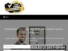 Miniaturka top-firma.pl (Certyfikat dla firm)