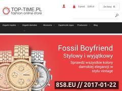 Miniaturka domeny www.top-time.pl