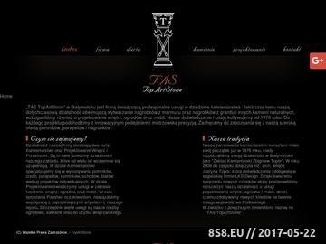 Zrzut strony Kamieniarstwo BIałystok, Rzeźby Białystok - TopArtStone