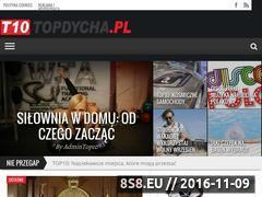 Miniaturka topdycha.pl (T10 - magazyn informacyjny TOPDycha)
