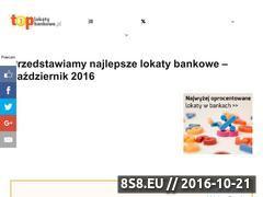 Miniaturka Porównywarka lokat bankowych (toplokatybankowe.pl)