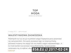 Miniaturka domeny topowamoda.pl